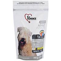 Сухий корм гіпоалергенний для дорослих собак всіх порід 1st Choice зі смаком качки і картоплі 0.35 кг