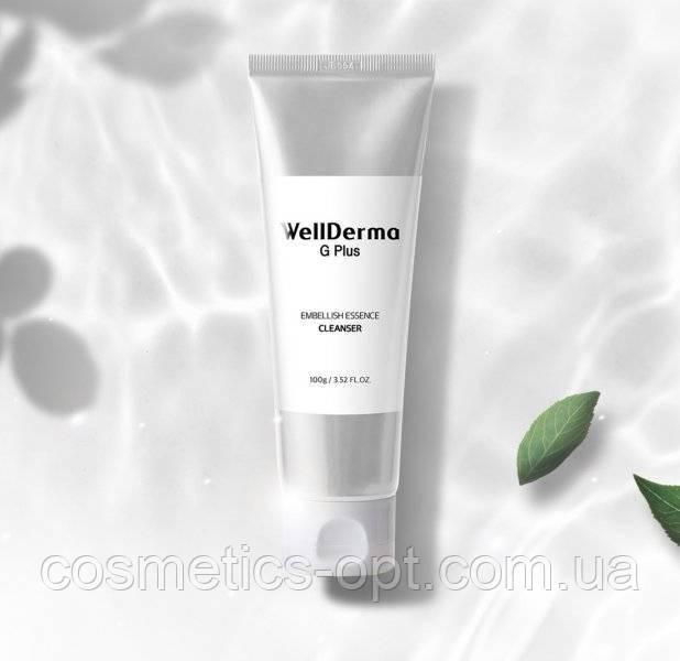 Концентрированный гель для умывания с витаминами и облепихой Wellderma G Plus Embellish Essence Cleanser