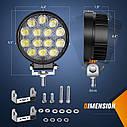 Nilight LED Pods 2Pcs 4.5Inch 42W 4200LM Круглый прожектор Off Road Lights Противотуманные фары LED, фото 4