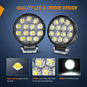 Nilight LED Pods 2Pcs 4.5Inch 42W 4200LM Круглый прожектор Off Road Lights Противотуманные фары LED, фото 5