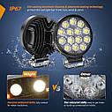 Nilight LED Pods 2Pcs 4.5Inch 42W 4200LM Круглый прожектор Off Road Lights Противотуманные фары LED, фото 6