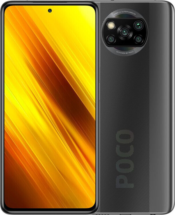 Смартфон Xiaomi Poco X3 NFC 6/64GB Shadow Grey (Global)