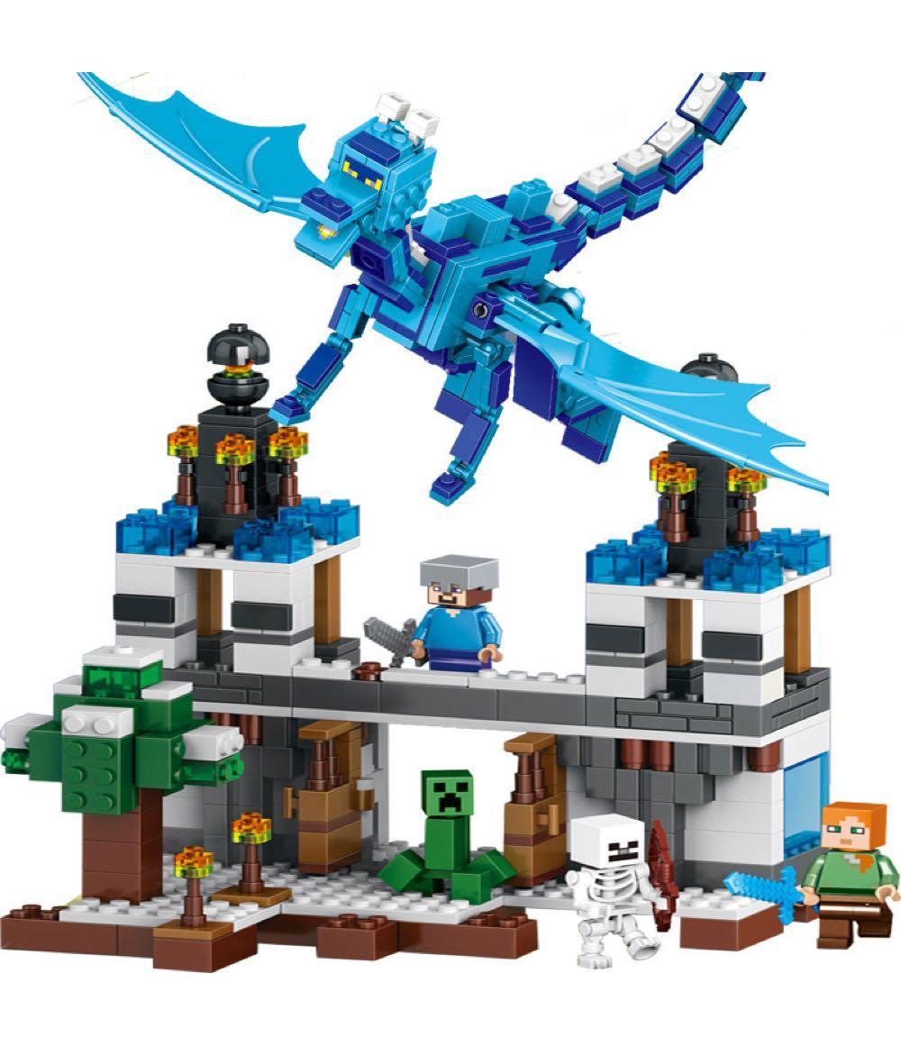 Конструктор Lepin 18020 Нападение синего дракона