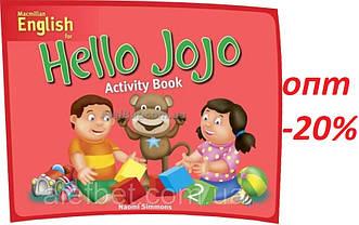 Английский язык / Hello Jojo / Activity Book. Тетрадь к учебнику, 2 / Macmillan