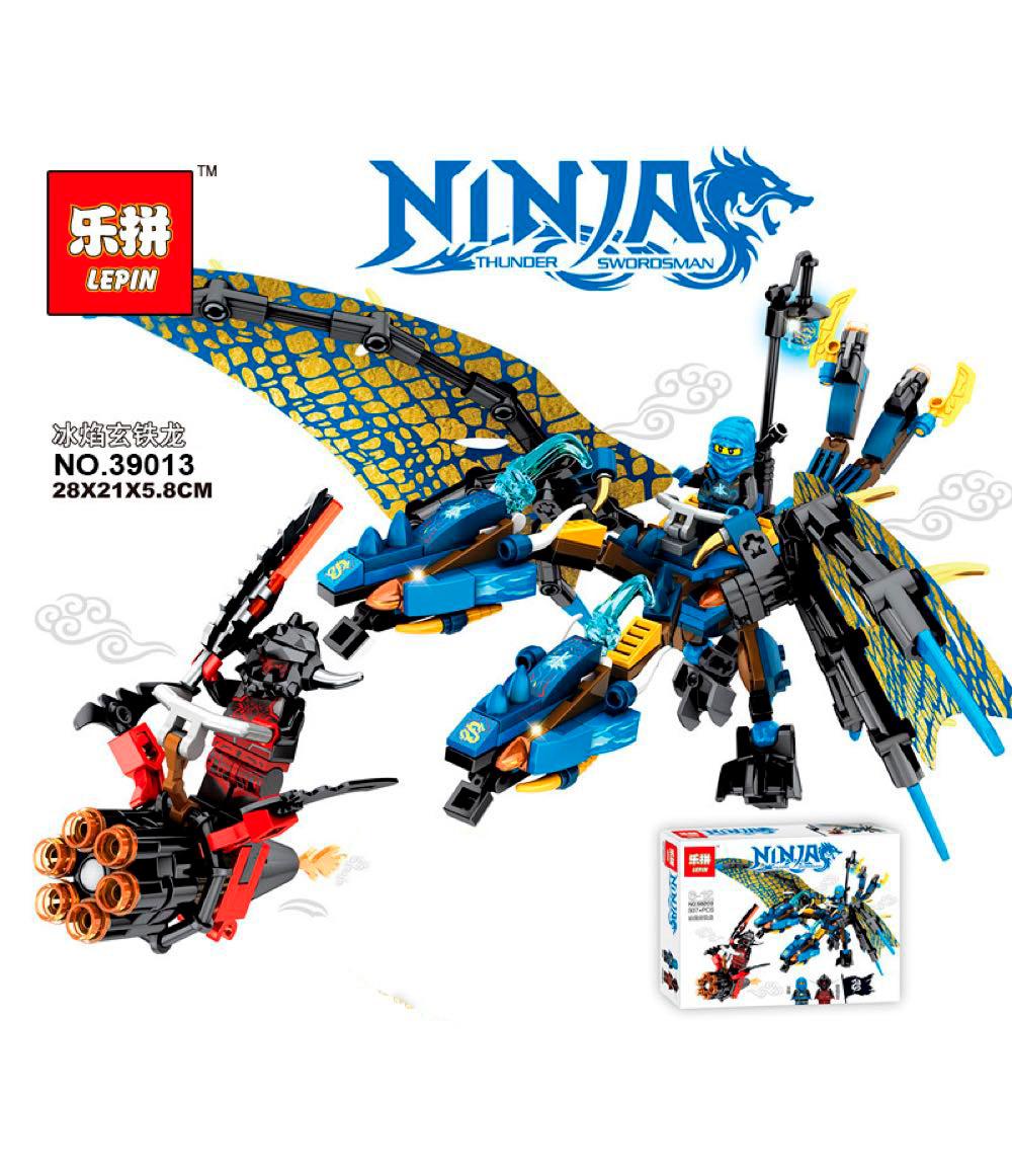 Конструктор Lepin 39013 Синій Дракон Джея