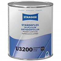 Грунт-наполнитель для пластиков, черный, STANDOX 2K U3200 (комплект, грунт 1л + отвердитель 1л)