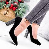 Туфли женские Barbara черные 2761, фото 3
