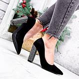 Туфли женские Barbara черные 2761, фото 4