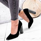 Туфли женские Barbara черные 2761, фото 5