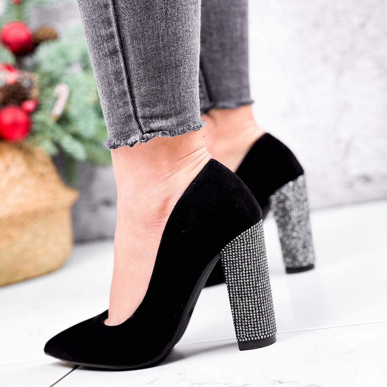 Туфли женские Barbara черные 2761