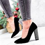 Туфли женские Barbara черные 2761, фото 6