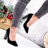Туфли женские Barbara черные 2761, фото 7