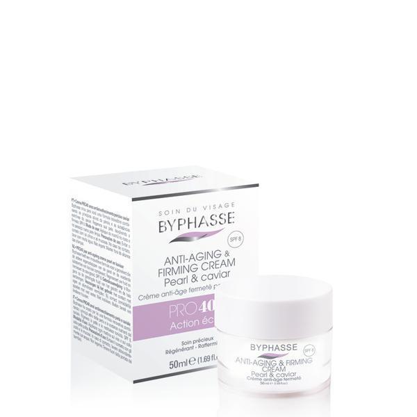 Byphasse Anti-aging Cream Pro40 Years Pearl And Caviar Крем антивозрастной 40+ (Бальзам для губ в подарок)