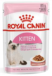 Royal Canin (Роял Канін) KITTEN INSTINCTIVE IN GRAVY вологий корм для кошенят в соусі з 4 до 12 місяців, 85г