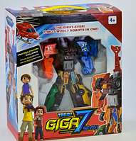 Тобот ГИГА 7 Робот 7 в 1 машинки Трансформер tobot giga 528 25 см