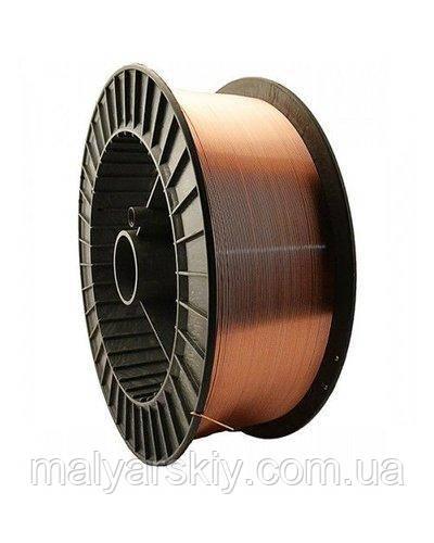 8519 Дріт зварювальний обмідненний 0,8 мм 1кг WAVE