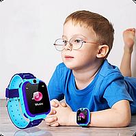 """Детские смарт часы Baby Smart Watch Q12 с GPS трекером   1.44""""   400 мАч   водонепроницаемые"""