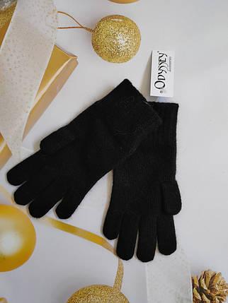 Перчатки  из шерсти  ODYSSEY  43605 черный, фото 2