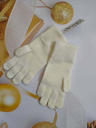 Перчатки  из шерсти  ODYSSEY  43605 молоко, фото 2