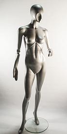 Манекен женский J-10-steel ball silver