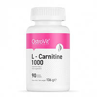 Л-карнитин Ostrovit L-carnitine 1000 90 tabs.