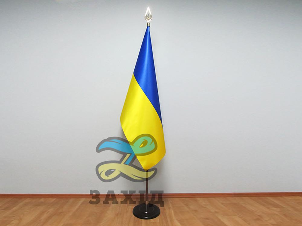 Прапор України купольний з атласу