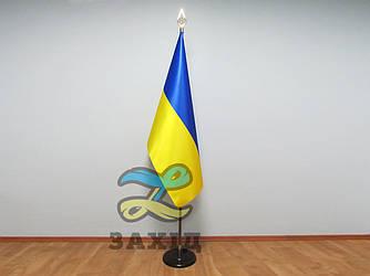 Флаг Украины купольный из атласа
