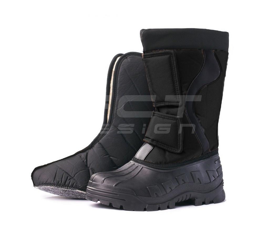 Сапоги Сноубутсы зимние непромокаемые черные