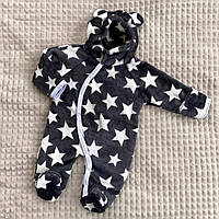 Комбинезон пушистый детский. Махровый комбинезон для малышей 2830, фото 1