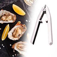Открывалка для моллюсков GDAY из нержавеющей стали клещи кухонные, фото 5