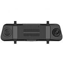 Зеркало видеорегистратор DVR Car Lesko D95 Bluetooth GPS навигатор угол обзора 170° на Android, фото 3