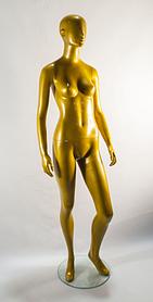 Манекен женский MX-001золотой