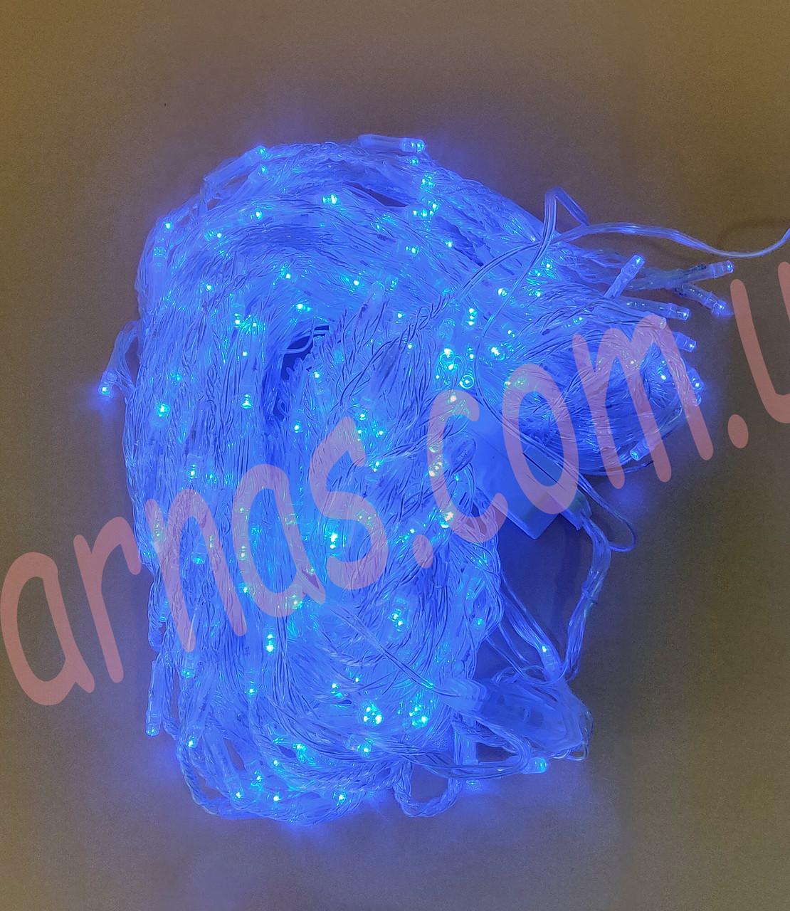 Світлодіодна гірлянда водоспад 320 LED blue (8-11)