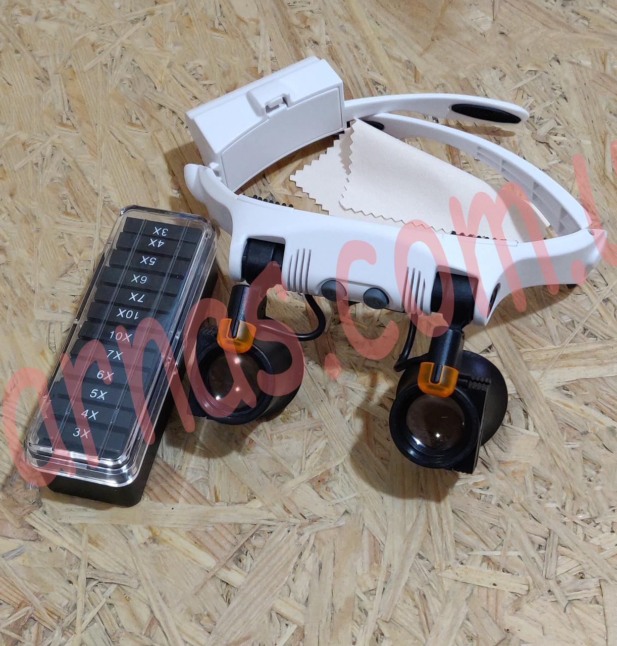 Бинокулярные очки с LED подсветкой 32225-21SX