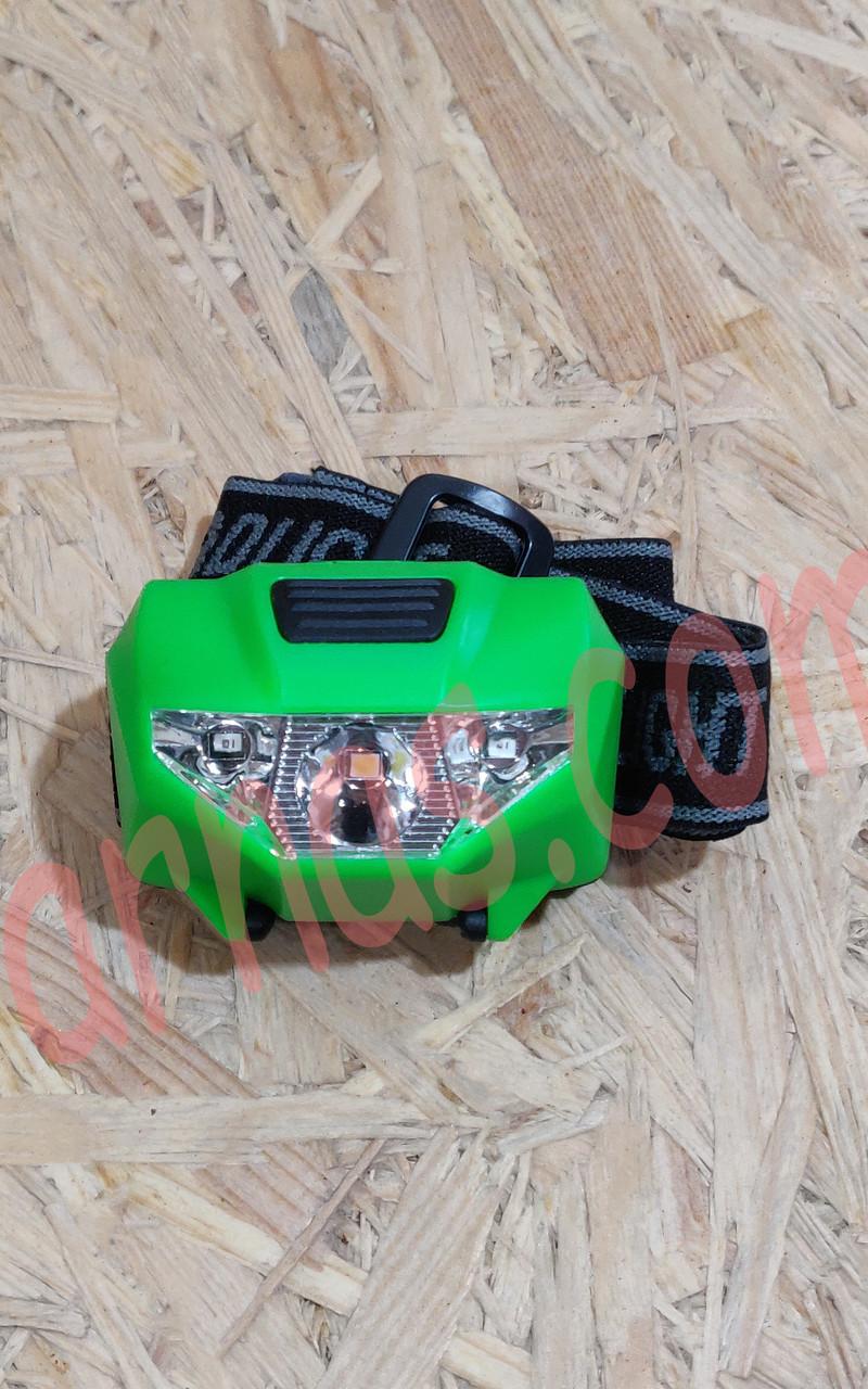 Налобный фонарь BL-T16 2in1
