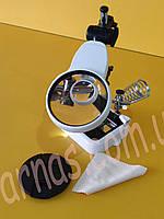 """Лупа з підсвічуванням настільна """"третя рука"""" MG16129DC, фото 3"""