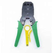 Клещи обжимные OB-315  (кримпер) для опрессовки штекера витой пары