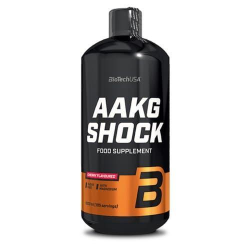 L-аргінін альфа-кетоглютарат BioTech AAKG Shock Extreme (1 л) аакг биотеч Вишня