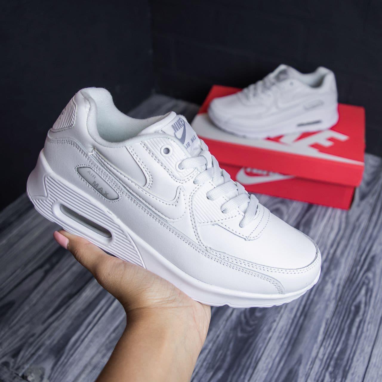Nike Air Force low білі кросівки найк чоловічі форс кеди 44-45