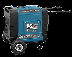 Инверторный генератор Konner&Sohnen KS 7200iEG S-Profi (7 кВт)