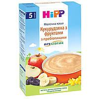 Каша молочная кукурузная с фруктами с пребиотиком 5м+ 250г Hipp Швейцария 2953