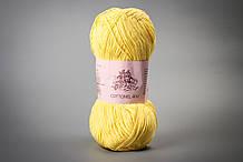 Пряжа хлопковая Vivchari Cottonel 400, Color No.2004 желтый