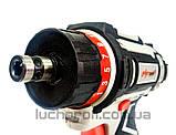 Шуруповерт Аккумуляторный ЛУЧ-Профи АШЛ-12 ДФР, фото 5