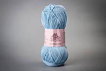 Пряжа хлопковая Vivchari Cottonel 400, Color No.2005 голубой