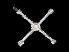 Ключ крестообразный (баллонный)  17/19/21/22 мм, 1/2  L=400мм