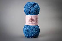 Пряжа хлопковая Vivchari Cottonel 400, Color No.2006 насыщенный голубой