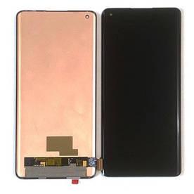 Дисплей для OnePlus 8 | 8 Pro с сенсорным стеклом (Черный) Оригинал Китай