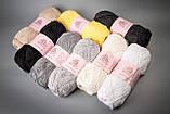 Пряжа хлопковая Vivchari Cottonel 400, Color No.2008 зеленая бирюза, фото 3