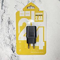 Зарядное устройство к телефону универсальное Hoco 2.4A
