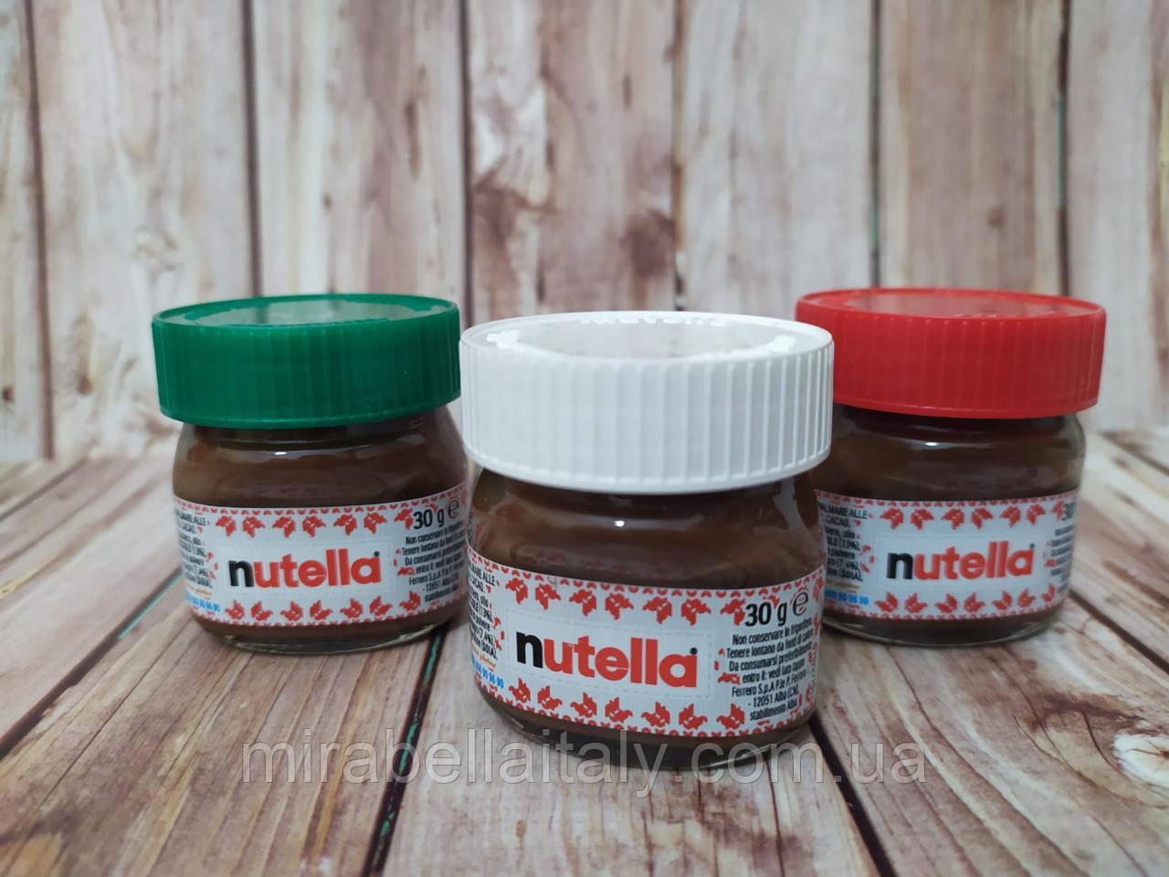 Nutella шоколадно- ореховая паста
